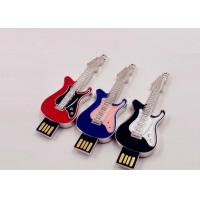 Quality Small Hi - Speed Jewelry Guitar Portable Usb Flash Drive 64gb Customed Logo for sale