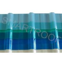 Wholesale 920 MM Real Width Transfer FRP Translucent Roofing Sheets / Clear Roof Panels from china suppliers