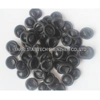 Wholesale Powder Free Black Conductive Finer Cots , textured disposable finger Cots CE ROHS from china suppliers