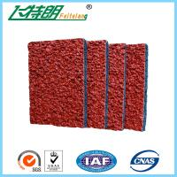 Wholesale Breathable Running Track Surfaces Outdoor Rubber Safety Surfacing UV - Resistance from china suppliers