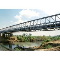 Wholesale Modular Recyclable Temporary Construction Bridge Over Sea With Anti - Rust Painted from china suppliers