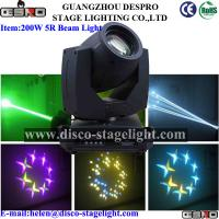Wholesale 16/20 Channels 200w 5r Beam Moving Head Light with Zoom from china suppliers