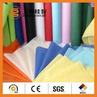 Wholesale Colorful Waterproof Spun Bonded Raw Material For Non Woven Fabric , 10gsm-320gsm from china suppliers