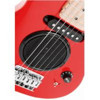 Kids / Student Mini Toy Guitar Wooden With Battery Powered Loudspeaker