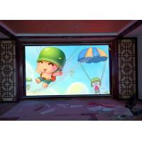 Wholesale Lightweight 64 X 32 dots Indoor Fixed LED Display wall P4 with S - VIDEO HDMI DVI input from china suppliers