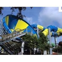 Wholesale Aquasplash Water Park Slide , Adult Cool Fiberglass Water Slides from china suppliers