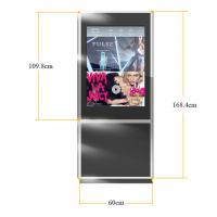 Wholesale Floor Standing Double Sided Display with Dual Screen , HD LCD Advertising Player 42 inch from china suppliers