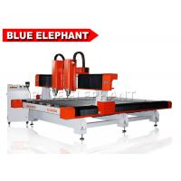 Wholesale Double separate heads 2030 stone cutting machine , cnc stone carving machine / cnc stone router from china suppliers