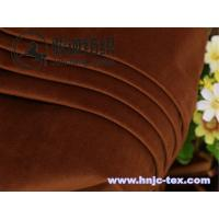 Wholesale Exquisite and soft handle velvet for apparel fabric with various color from china suppliers
