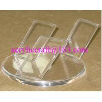 Wholesale Simple Design Clear Acrylic Knife Display Rack / Perspex Knife Holder from china suppliers