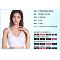 Wholesale 2015 high quality hot sale new fashion sportswear gym trainning yoga sports bra from china suppliers