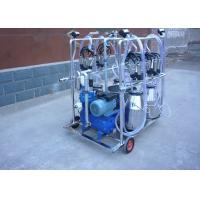 Wholesale 4 Stainless Steel Buckets Dairy Milking Machine For Goats / Sheep from china suppliers