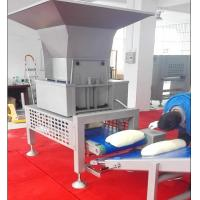 Wholesale SEW Motor Pastry Dough Dough Sheeter Machine With Auto Dough Block Cutting Hopper from china suppliers