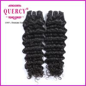 Quality natural deep wave 100% human peruvian virgin hair weaves virgin peruvian human hair weave for sale