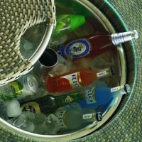 Wholesale Outdoor Furniture/Rattan Bar Table with Ice Bucket for Cold Beer from china suppliers