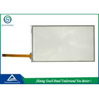 Quality Laptop 5 Inch Resistive Touch Screen Overlay 4 Wire Analog Film Glass Structure for sale