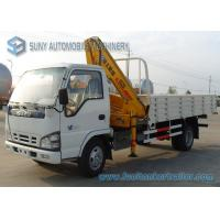 Wholesale 4 X 2 Isuzu 3000KG Diesel Crane Mounted Truck With Knuckle Boom from china suppliers