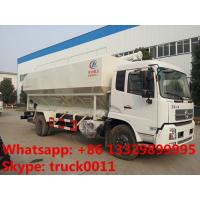 Wholesale hydraulic auger bulk feed delivery/discharge truck for chicken,cattle,pig poultry farm from china suppliers