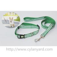 Wholesale Wholesale custom woven lanyard dog collar and dog lead gift sets, quality pet products, from china suppliers