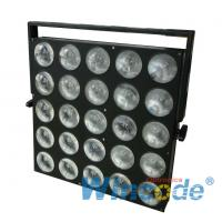 Wholesale 25*10W Cree LED Audience Blinder Warm Matrix Beam White For Broadcast Studio from china suppliers