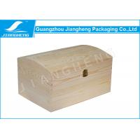 Wholesale Customized Original Colour Wooden Gift Box No Printing For Keepsake Packaging from china suppliers