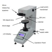 Wholesale Ceramics Testing Optical Micro Hardness Tester With 100X / 200X Magnification from china suppliers