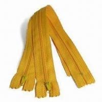 Buy cheap C/E P/L #3 Nylon Zippers, Customized Requirements are Welcome from wholesalers
