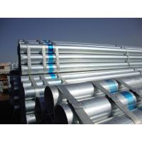 Buy cheap Q235B / Q345B Hot Dipped Galvanized Steel Pipes Tubes For Water, Gas, Oil Transportation from wholesalers