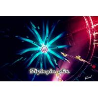 Buy cheap Giant Multi-color Inflatable Led Light with Spider Shape for Concert and Bar from wholesalers