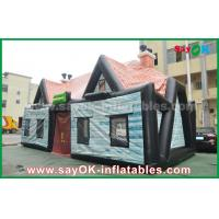 Wholesale Giant 0.55mm PVC Inflatable Air Tent Inflatable House Tent Log Cabin Waterproof from china suppliers