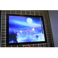 Wholesale Hanging Crystal Led Backlit Light Box , A1 Aluminum Poster Advertising LightBox from china suppliers