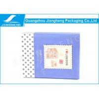 Wholesale CMYK Printing Cardboard Candy Gift Boxes Blue Paper Printing With Dot Design from china suppliers
