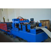 Wholesale Section Roof CZ Purlin Roll Forming Machine , Ceiling Purlin C Channel Roll Forming Machine from china suppliers