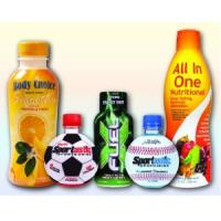 Wholesale Pet Material Shrink Wrap Bottle Labels , Non Toxic Shrink Sleeve Labels from china suppliers