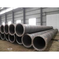 dredging pipe with flanges