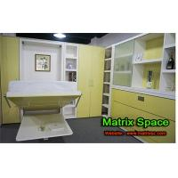 Wholesale Horizontal Single Space Saving Murphy bed with table , Echo-friendly Green from china suppliers