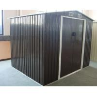 Wholesale Apex 12x10 / 10x10 / 10x8 Metal Tools Storage Garden Shed With Double Swing Doors from china suppliers