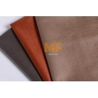 Wholesale Leather Imitation Textured Velboa Fabric / Interior Modern Floral Upholstery Fabric from china suppliers