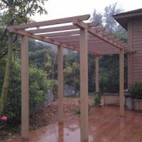 Buy cheap Simple Pergola for Private House (120X120MM) from wholesalers
