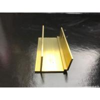 Wholesale Solid Brass Furniture Decorative Profiles Brass H Sections Profiles from china suppliers