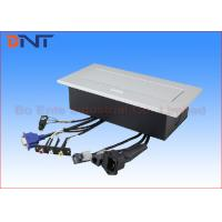 Wholesale Power Supply Office Desk Power Sockets Square Corner With Audio Video Connector from china suppliers