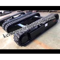 Wholesale factory directly offered rubber track undercarriage rubber track system rubber crawelr undercarriage from china suppliers