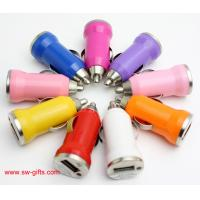 Wholesale Promotion Bullet Mini USB Car Charger Universal Adapter for iphone 5S 6 6S Plus Samsung from china suppliers