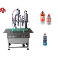 Wholesale Semi Automatic Butane Gas LPG Gas Filling Machines, Lighter Gas Refill Machine from china suppliers