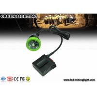 Wholesale Long wire LED Mining Lamps With 1500mA 3.7V Lithium Battery , Impact Resistant Headlamp from china suppliers