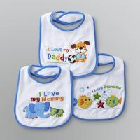 Wholesale OEM Plain Dyed Newborn Baby Products , Custom Cotton / Polyester Baby Bibs from china suppliers