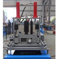 Wholesale 1.5mm-3mm Q195-235 Blue C Z Purlin Roll Forming Machine With 18 Forming Roller from china suppliers