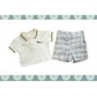 Wholesale Short Sleeves 2 Pieces Casual Cotton Baby Layette Set Clothes For Summer from china suppliers