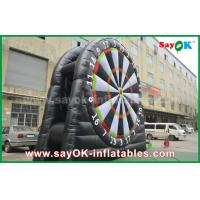 Wholesale Inflatable PVC Velcro Black Football Darts Board Stands For Sports Game from china suppliers