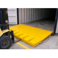 Buy cheap Custom Folding Mini Mobile Yard Ramp For Container Loading Ramps from wholesalers
